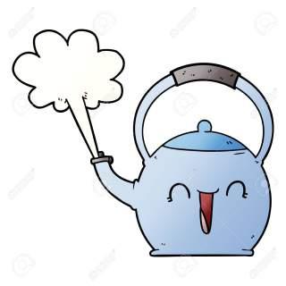 کتری در فال قهوه دیدن کتری در فال قهوه تعبیر کتری در فال قهوه معنی کتری در فال قهوه