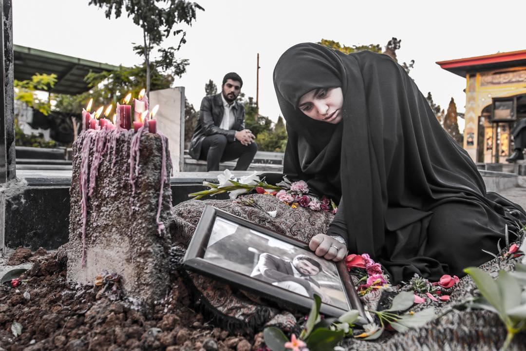 صحنه ی مرگ حامدر در سریال پدر لیلا سینا مهراد