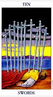 ten of swords tarot