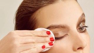 ریمل پاک کردن وازلین پاک کردن آرایش