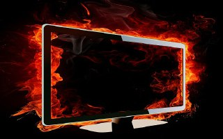 آیا داغ بودن صفحه تلویزیون LED یا LCD طبیعی است؟
