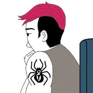 عنکبوت در فال قهوه عنکبوت ها در فال قهوه نماد عنکبوت در فال