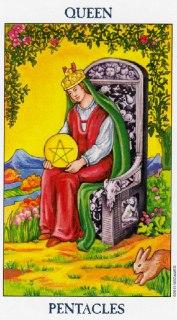 queen of pentacles tarot