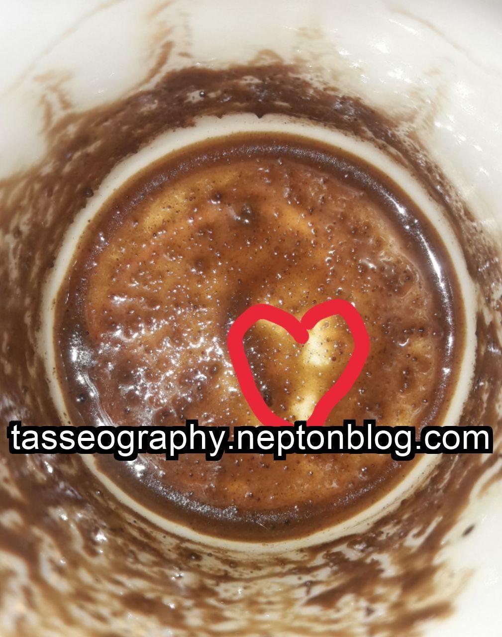 قلب تیره در فال قهوه آموزش فال قهوه