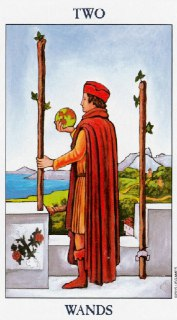two of wands tarot