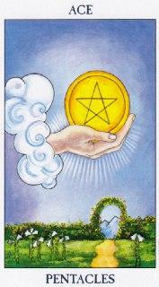 ace of pentacles tarot