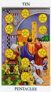 ten of pentacles tarot