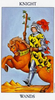 knight of wands tarot