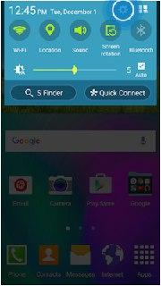 اسکرین میرورینگ گوشی های galaxy a5