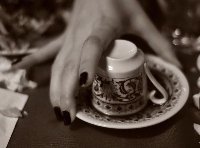 بادام  در فال قهوه دیدن بادام در فال قهوه