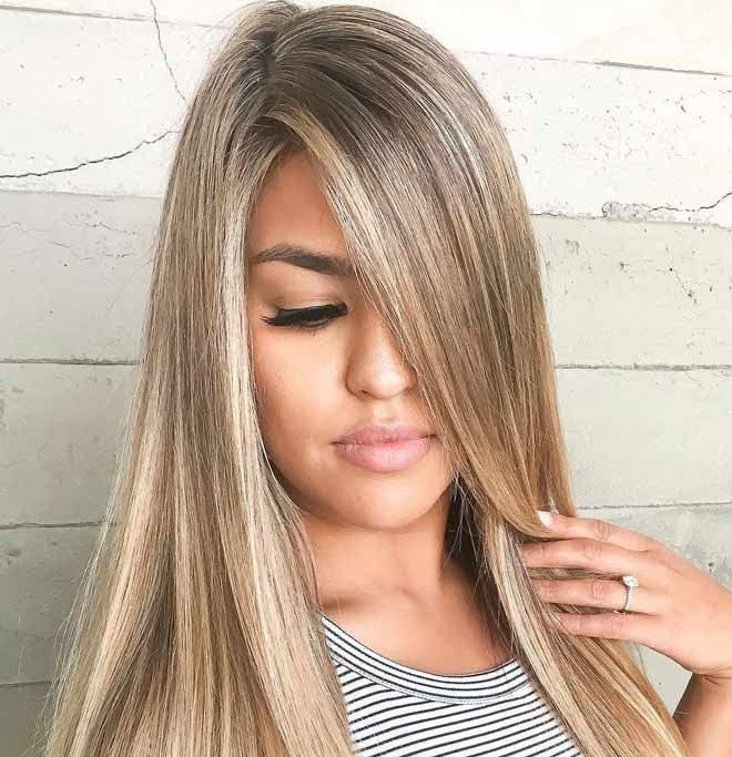 موی بلوند صاف زیبا بلوند بولوند