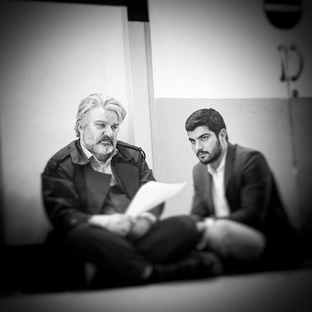 مهدی سلطانی پدر حامد سریال پدر علی
