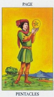 page of pentacles tarot