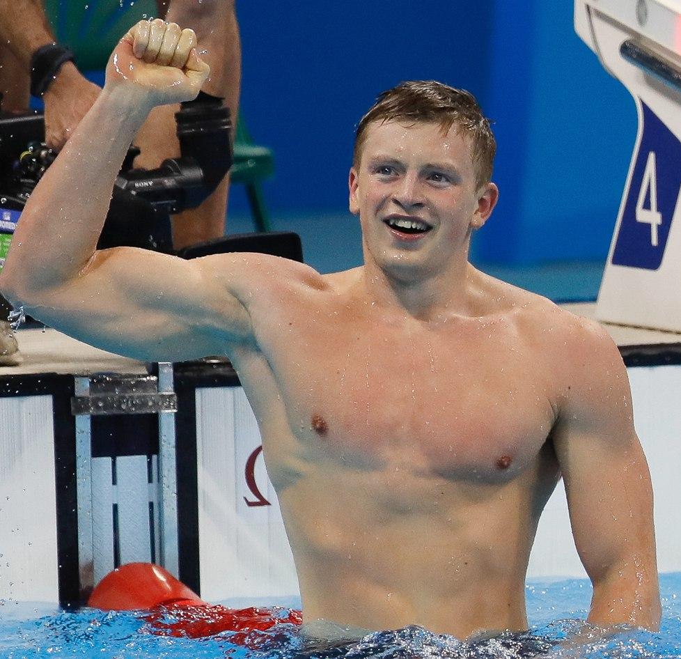 آدام پیتی ورزشکار شناگر