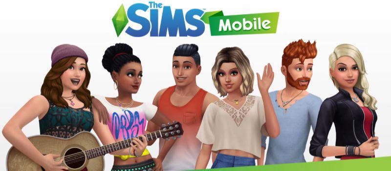 بازی سیمز موبایل گوشی آندرویدی
