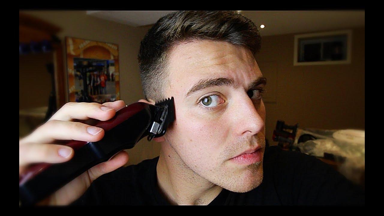 مو مردانه دور ماشین