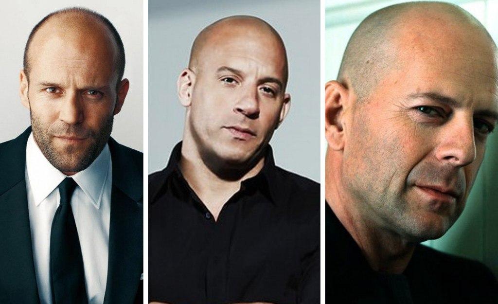 مردان معروف کچل دنیا بازیگران کچل هالیوود کچل