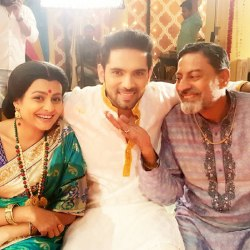 عکس تارو و پدر و مادرش در سریال زبان عشق