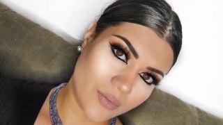 خط چشم عربی آرایش عربی خط چشم